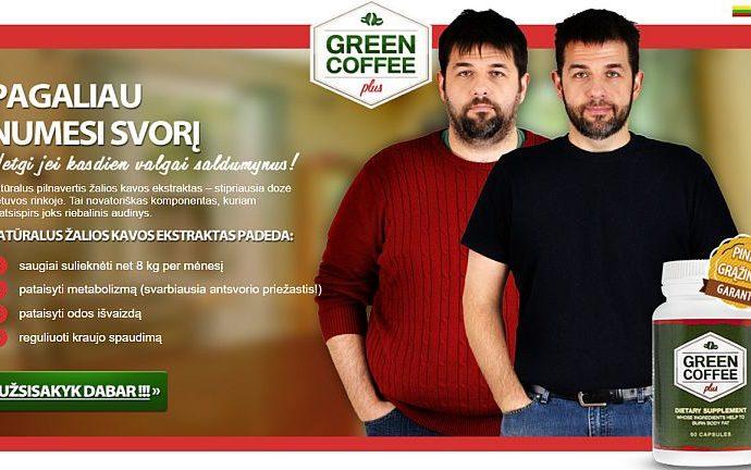 Kaip numesti svorio, maisto papildai Green Coffee