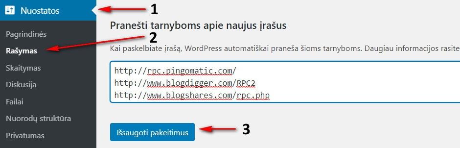 Internetines svetaines Ping