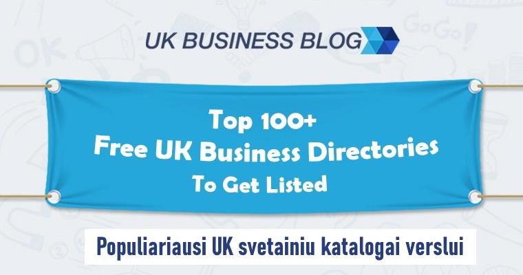 Populiariausi UK svetainiu katalogai verslui