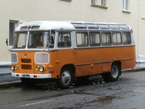 Senas rusu autobusas