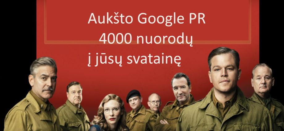 4000 nuorodų į jūsų svetainę