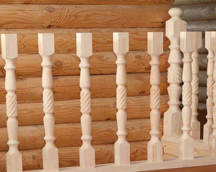 Mediniu turėklu montavimo procedūra